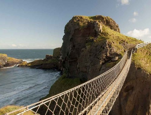 Carrick Rede Rope Bridge