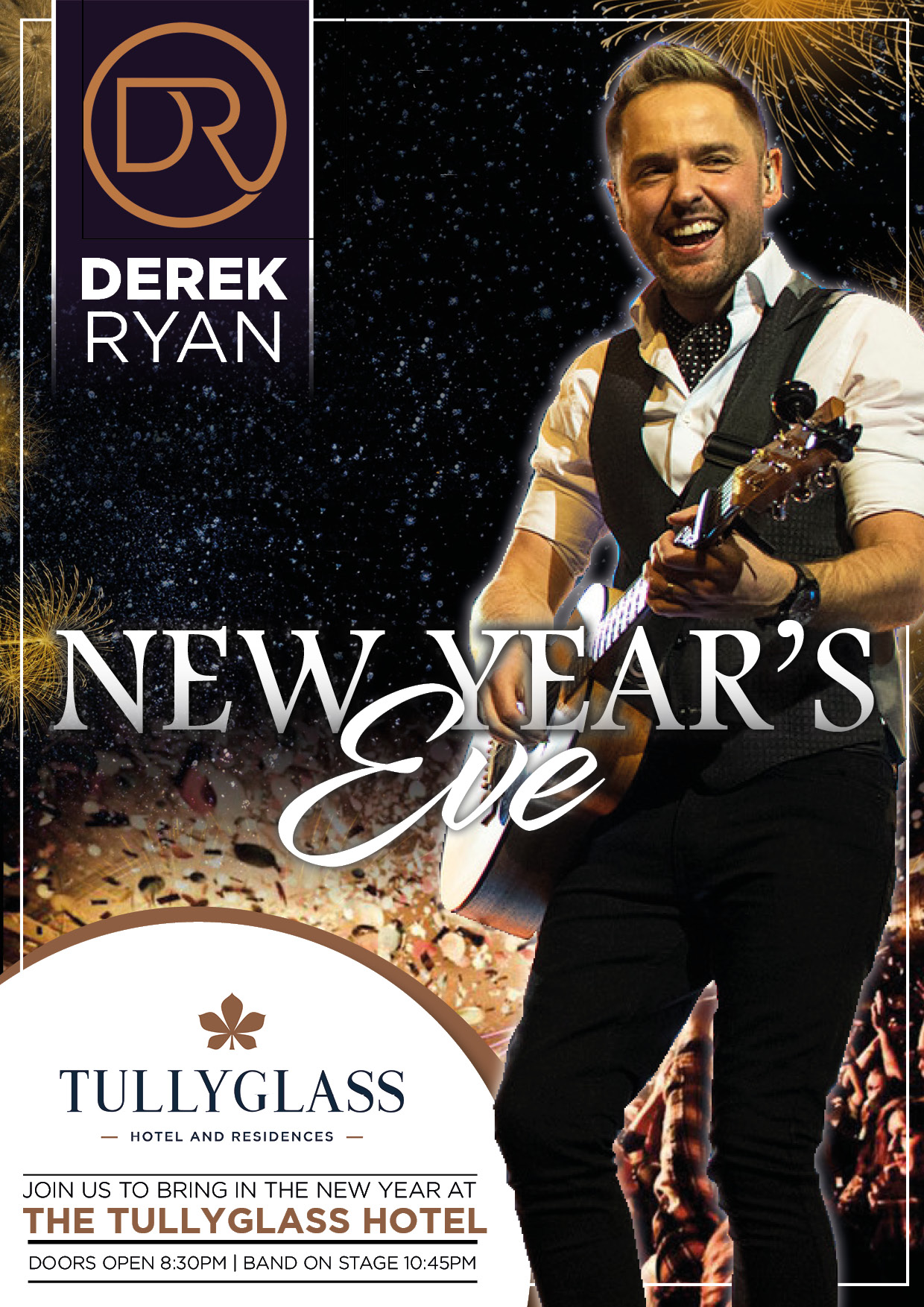 New years Eve with Derek - Tullyglass Hotel and Residences